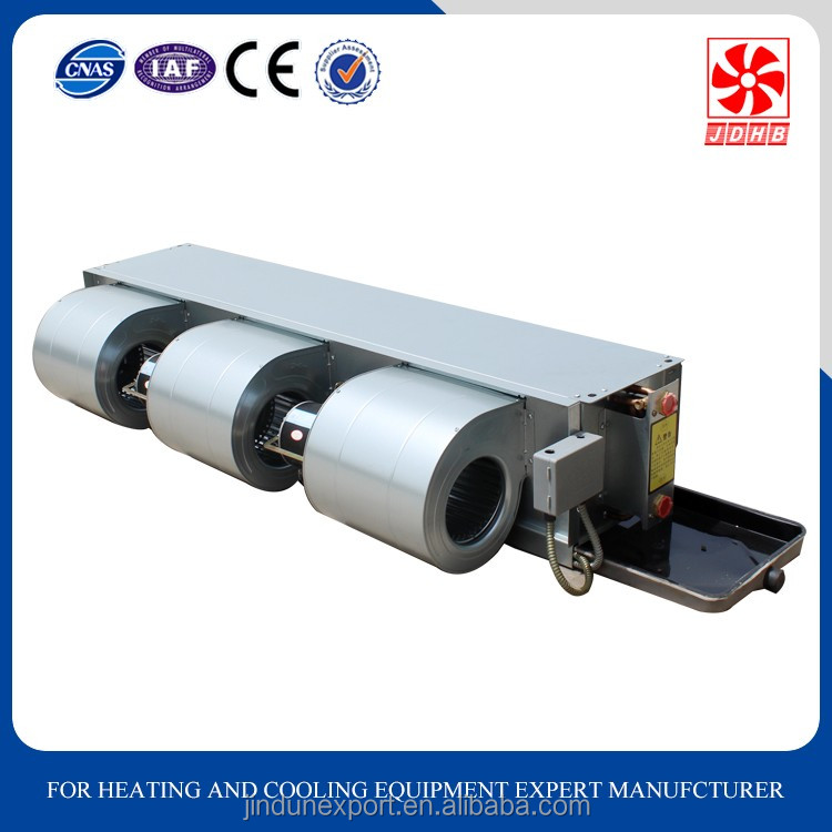 Horizontal Concealed Fan Coil Unit/FCU/air conditioner for OEM