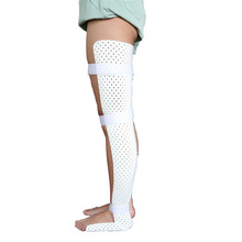 Thermoplastic Orthopaedic Leg Splint Knee Fracture Ankle Immobilizer Splint