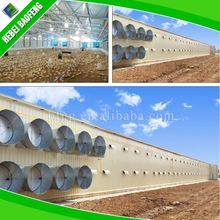 Light gauge steel sheds construction building automatic layer poultry shed
