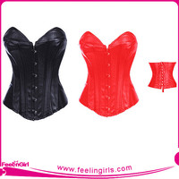 Wholesale Sexy Women Corset Leather
