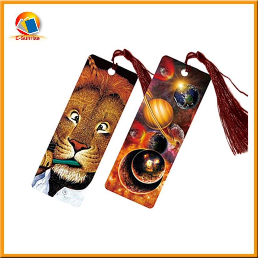 3d bookmark pet material with horse design