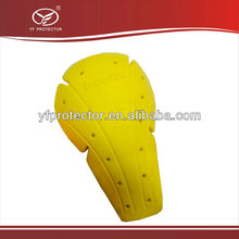 Beetle leather/ garments protective PU elbow pad/knee pad