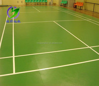 MINGBANG Vinyl Pvc Sport Floor For Indoor Badminton Court