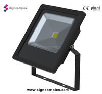 IP65 10w/20w/30w/50w black led flood light with CE ROHS