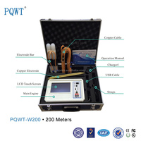 PQWT-W200 Multi-Function DC Resistivity & electrical resistivity measuring Instruments for detecting ground water
