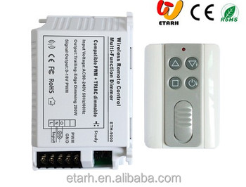Wireless Triac and 0-10V PWM Multi-function LED Dimmer