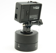 Wholesale gopros 360 Degrees 60min Panning Rotating Time Lapse Stabilizer Tripod for GoPros/ Xiaomi yi/ Sonys cameras.