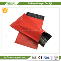 plastic clear or decorative mailing envelope used for transport