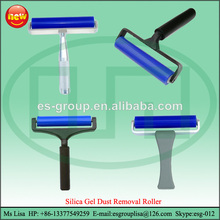 "6"" Dust Removal Silicone Sticky Rubber Plastic Roller"