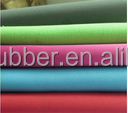 Neoprene/CR textile fabric rubber sheet with polyester fabric price