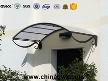 SGS UV coating Bayer resin polycarbonate solid sheet canopy material roofing sheet