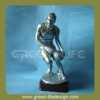 wholesale resin statues basketball player