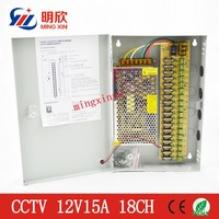 180W Power Supply 12V15A 18 Channel