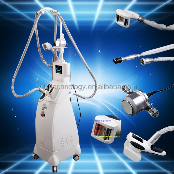 Vacuum Suction/RF/Roller Slimming beauty devise for body reshaping after liposuction Face lifting and tightening machine