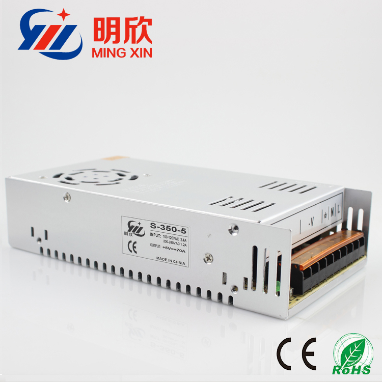 5v70a 350w 5v 12v 24v 48v power supply