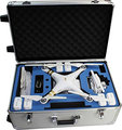 Aluminum DJI Phantom 2 3 Professional Advanced Standrad 4k Vision+ Travel Case Quadcopter Drones Rolling Travel Trolley