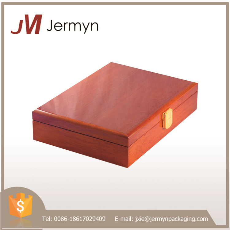 Best quality solid wood jewelry storage case with competitive price
