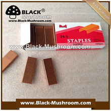 Factory supply 24/6 copper staples good quality lower price (welcome to ask sampels)