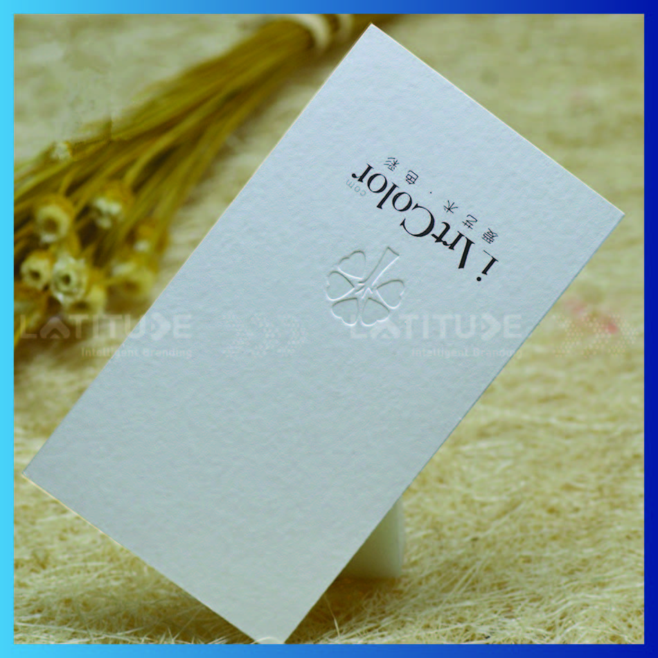 Custom Cotton Paper Gold Foil Business Cards Printing