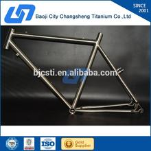 Hot sale manufacturing titanium mountain bike/bicycle frame MTB bike