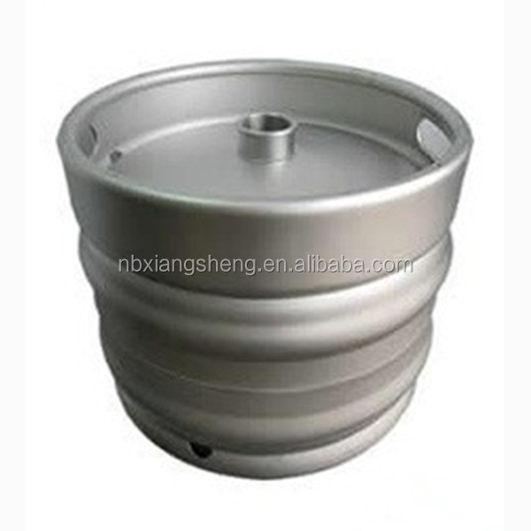20 liter Europer beer keg made of stainless steel with stackable feature