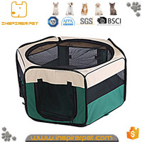 Portable Doggie Play Pen 6 Panels Pet Playpens