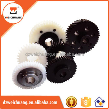 white color Nylon plastic wheel