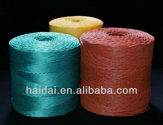 Greenhouse baler twine for tomato tree