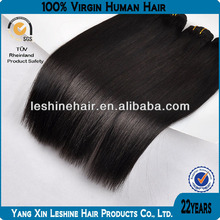 9a 8a 7a grade 100% virgin remy Indian straight hair with natural color full cuticle