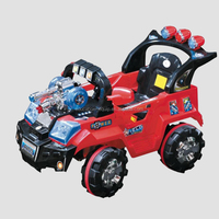 SE97328 Red Color Off-road Vehicle Type Kids Drive Toy Car