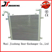 China Manufacture Air Cooled Plate and Bar tractor oil cooler with lager heat transfer surface