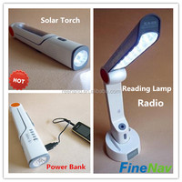 OEM ODM accepted rechargeable led torch China supplier solar flashlight emergency torch light