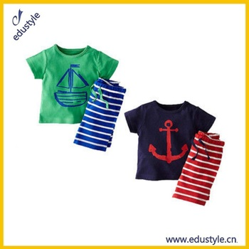 Wholesale Custom New Style Kids Pant Shirt For Boys