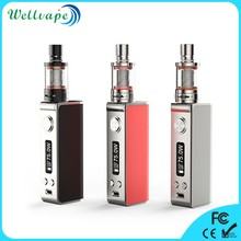 Cheap top-quality 18650 battery smy 75 mii temp control bottom button vaporizer mod