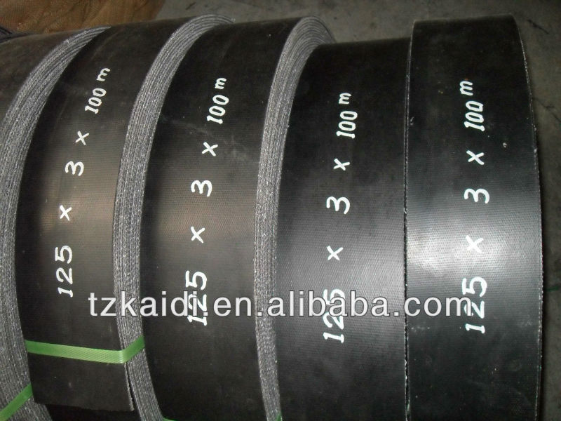 China Hot Selling Professional 28OZ Cotton Flat Transmission Belt with Competitive Price