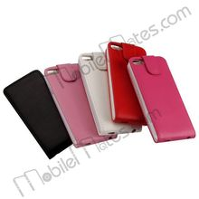 High Quality Wholesale Magnetic Flip Cover for iPod Touch 5 5th Leather Case