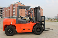 Guangzhou Hydraulic 81KW TCM Diesel 7T Forklift Truck Parts Price For Sale