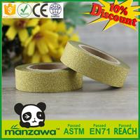 New design art working glitter tape