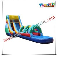 Inflatable water slide SL-138
