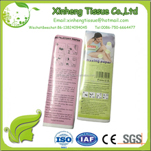 Non-Woven Depilatory Wax Paper hair removal wax strip