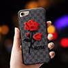 Alibaba hot selling embroidery cases flower design case for iphone 7