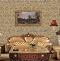 New collection decorative pvc wallpaper plastic wallpaper
