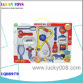 New Products! plastic doctor set toy tool set fashion educational toy medical kit play set wholesale