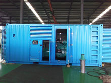 500kw ECM silent diesel generator with container type for sale