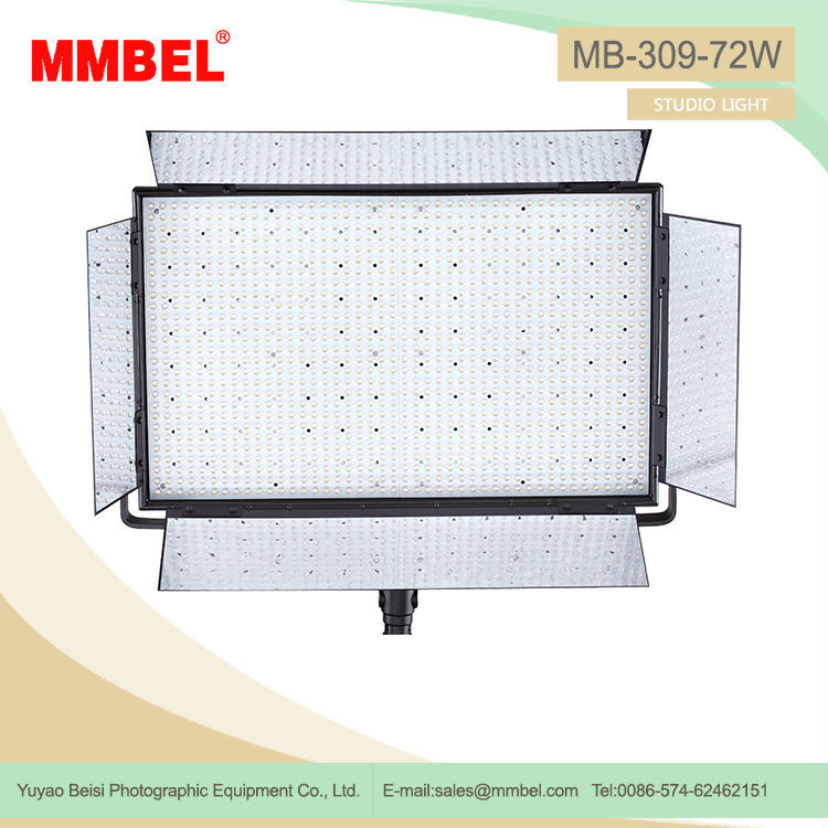 5600K High quality 1188pcs Powerful led video shooting lights
