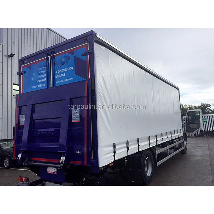 610gsm material lengths and colours are custom made truck side curtain