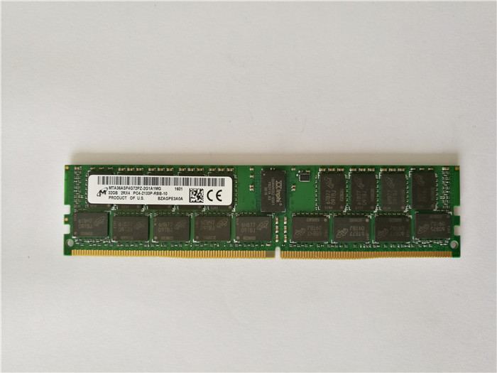 ddr4 Micron 32GB PC4-17000 DDR4-2133MHz ECC Registered CL15 288-Pin DIMM 1.2V Dual Rank Memory Module P/<strong>N</strong> MTA36ASF4G72PZ-2G1 SY