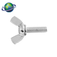 carbon stainless steel wing bolt lock safety nut