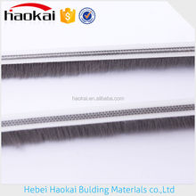 Guaranteed quality dust seal horse hair car door protection strips