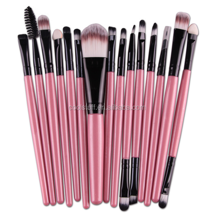 Christmas products New Zoreya Shiny Crystal Rose Gold Private Label Makeup Brush 15 pcs crystal handle powder brush for <strong>beauty</strong>